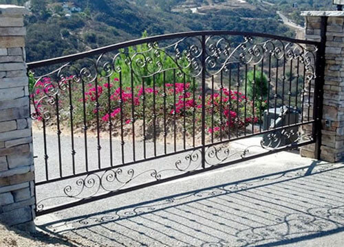 Automated Driveway Entry Gates San Diego Ca Wrought