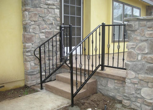 Hand Rails & Guard Rails - Decorative Wrought Iron San Diego, CA