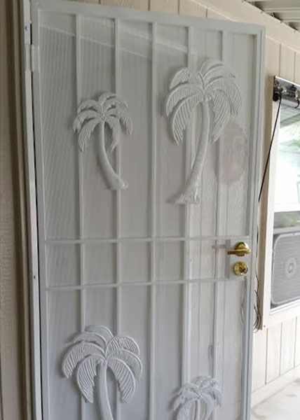 Decorative Iron Doors