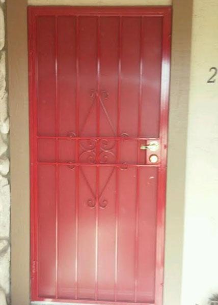 Chula Vista Red Paint