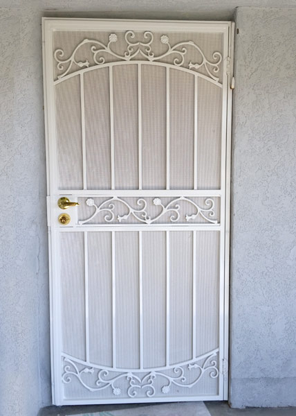 Security Screen Door in Rancho Santa Fe, CA