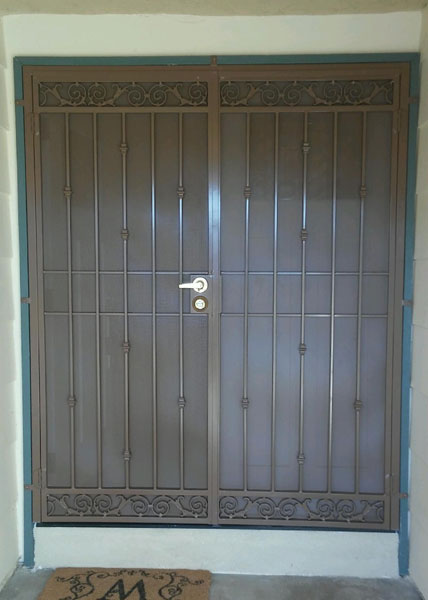 Double Security Screen Door in Poway, CA