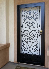 Iron Entry Doors Fences Gates Stair Railings San