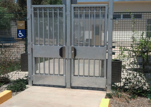 Folding Security Gates Doors Iron Fencing Railings