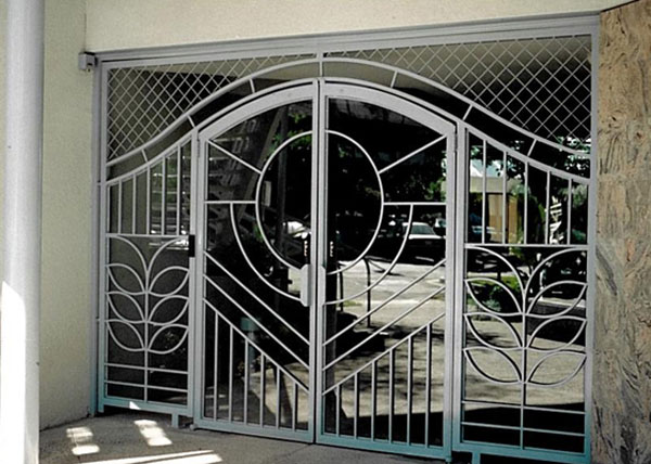 Wrought Iron Security Doors Screens San Go Ca Front Entry Exterior