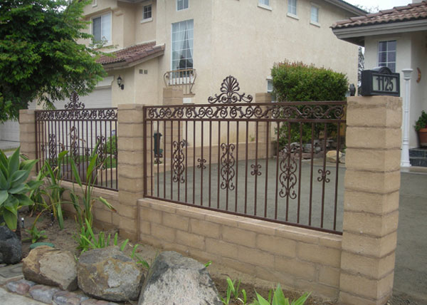 Ba Ramirez Iron Works Gallery Custom Ornamental Fences