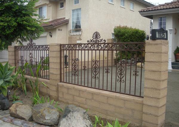 Ba Ramirez Iron Works Gallery Custom Ornamental Fences Gates San Diego Ca