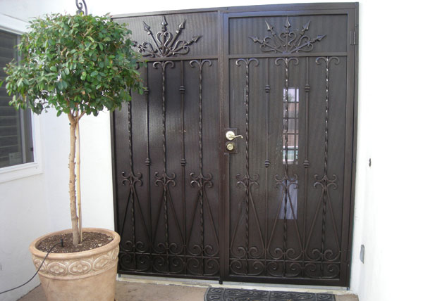 D30 ...  sc 1 st  Iron Entry Doors Fences Gates Stair Railings - San Diego CA & BA Ramirez Iron Works Gallery | Ornamental Wrought Iron Doors ...