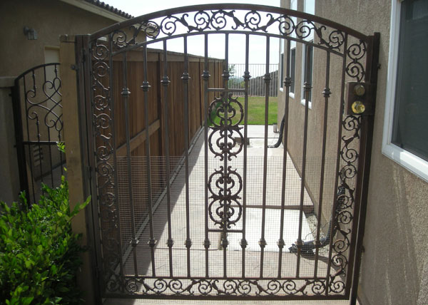 Iron Entry Doors Fences Gates Amp Railings Alpine Ca