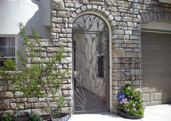 Iron Entry Doors Fences Gates Amp Railings Rancho Santa