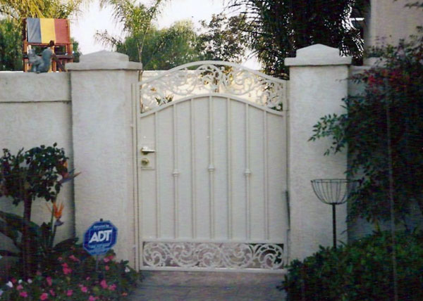 Ba Ramirez Iron Works Gallery Custom Ornamental Gates San Diego Ca