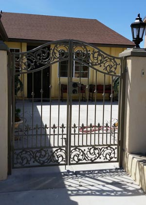 High Security Front Gate