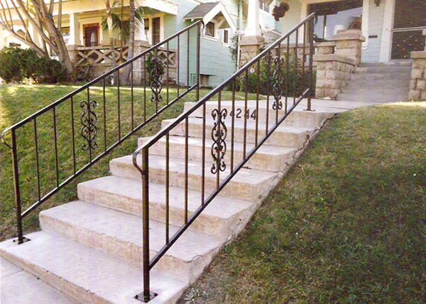 Staircase Railings   Decorative Wrought Iron San Diego, CA | Commercial/Residential  Stair Rails
