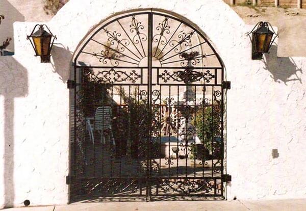 Affordable Ornamental Gate