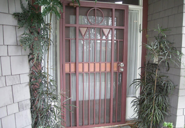 Ornamental Exterior Iron Doors